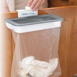 Навесной держатель для мусорных пактов Attach-A-Trash Мусорное ведро