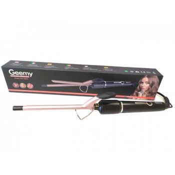 Плойка для волос с керамическим покрытием Geemy GM-2825 термоизолированный наконечник Афрокудри 9 мм